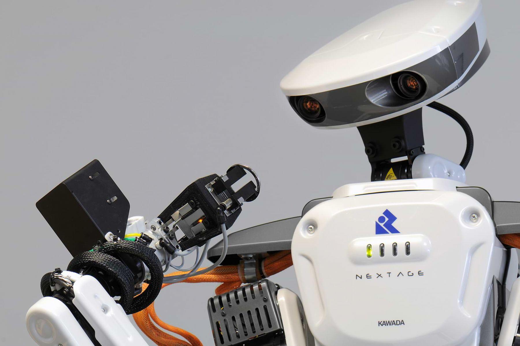nextage ein roboter ohne ber hrungs ngste technik und. Black Bedroom Furniture Sets. Home Design Ideas